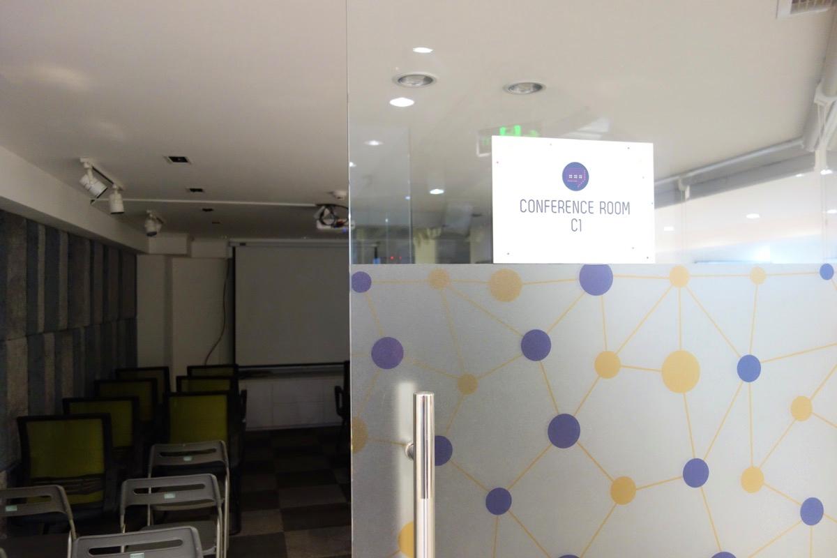 コワーキングスペース「cirCO」の会議室