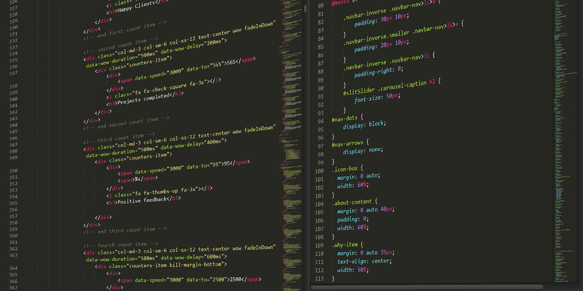 HTMLへの理解とマークアップ