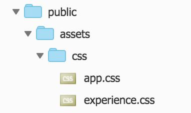 LaravelでのCSSファイル配置箇所