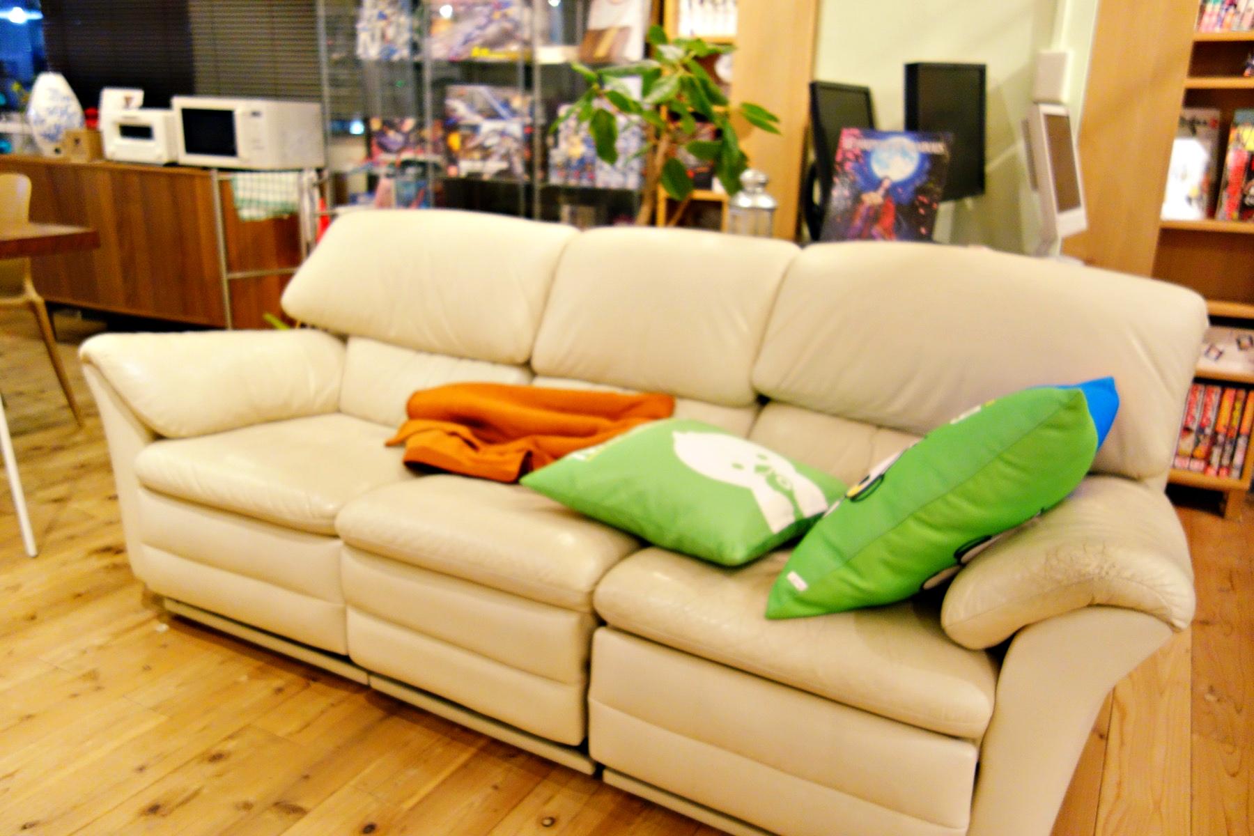 CASE SHINJUKUのソファー
