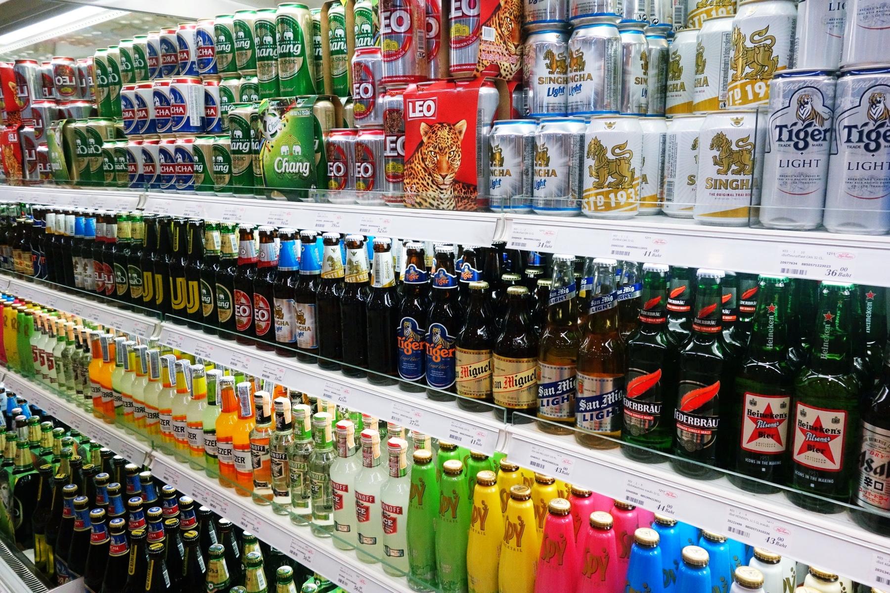 フジスーパーでビールの買い出し