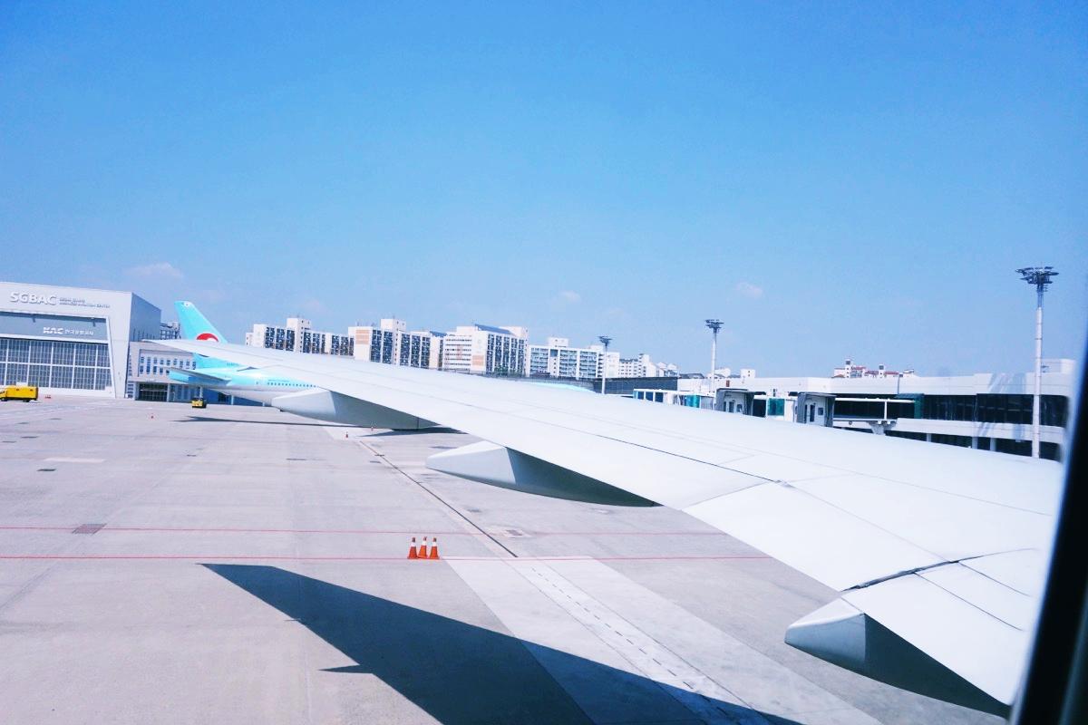 大韓航空の飛行機 KE 708便