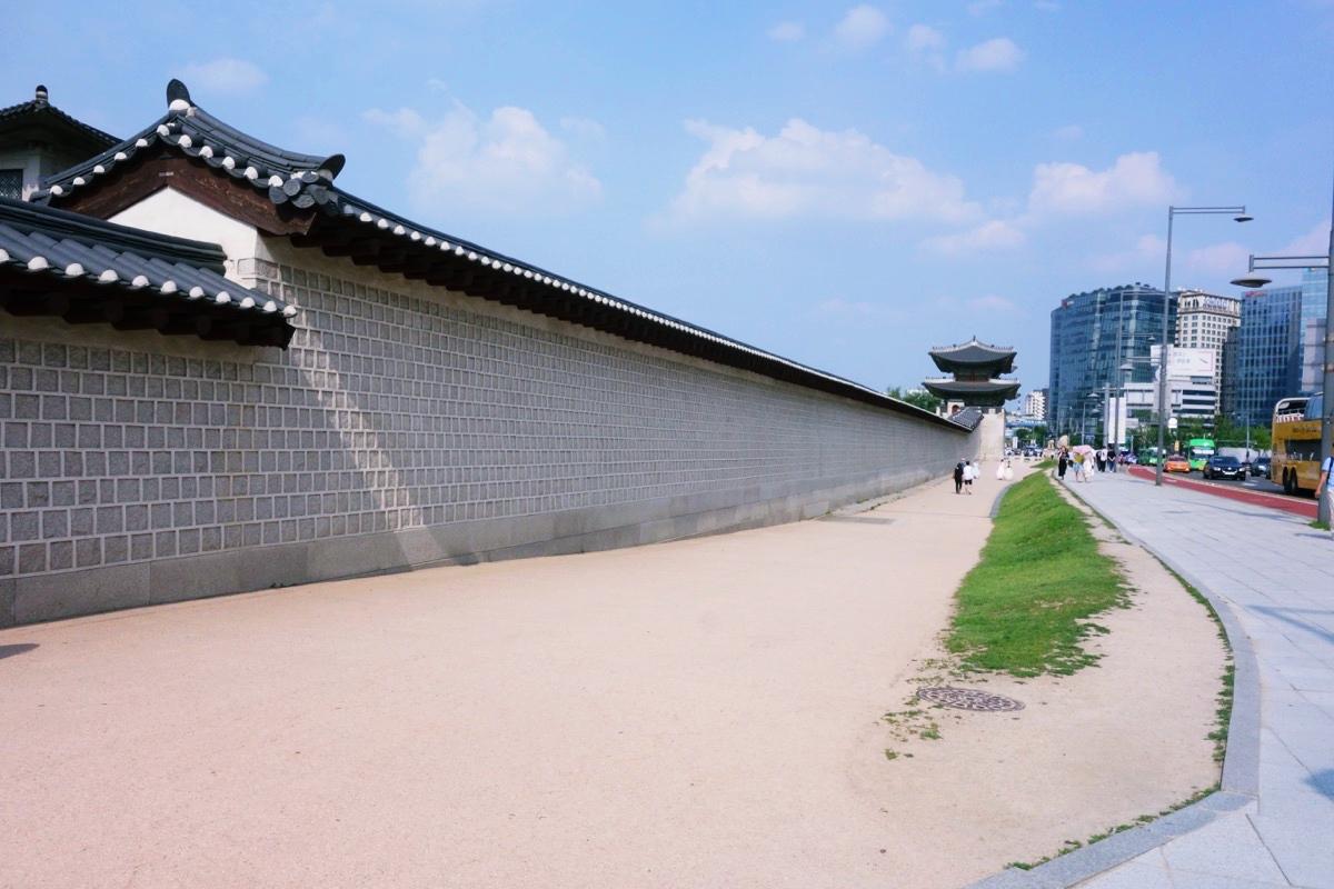 景福宮の城壁