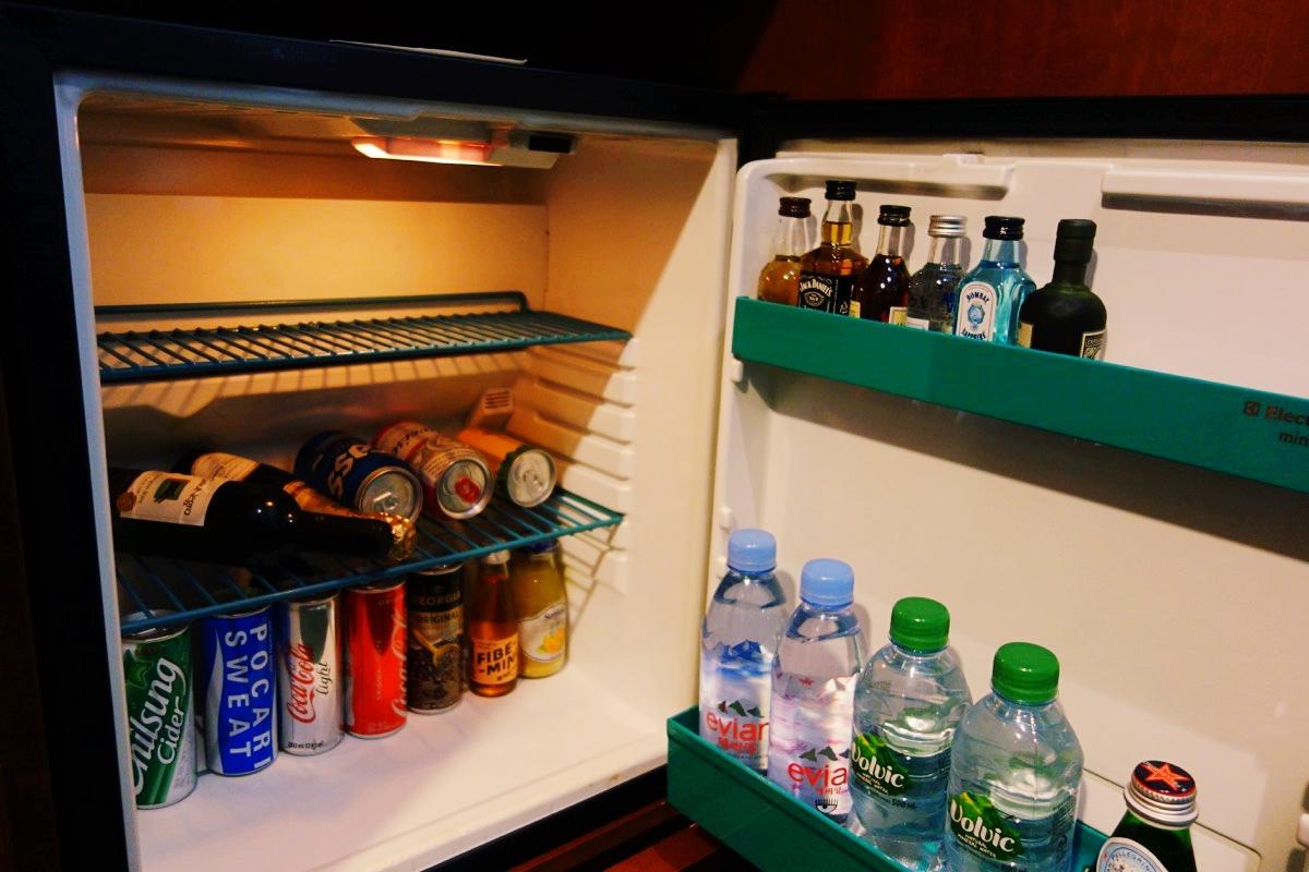 インターコンチネンタルCOEXの冷蔵庫