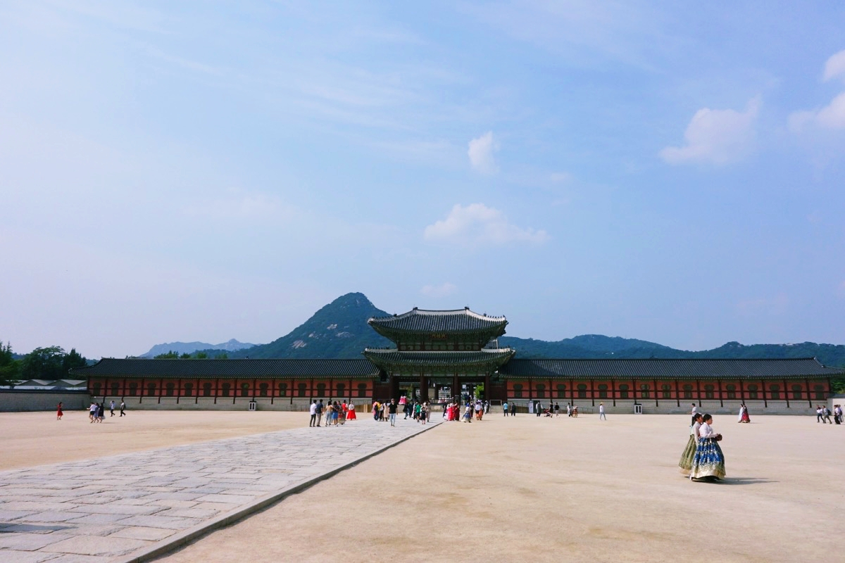 景福宮の内部