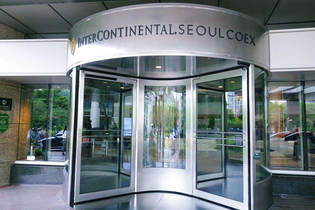 インターコンチネンタルCOEXのゲート