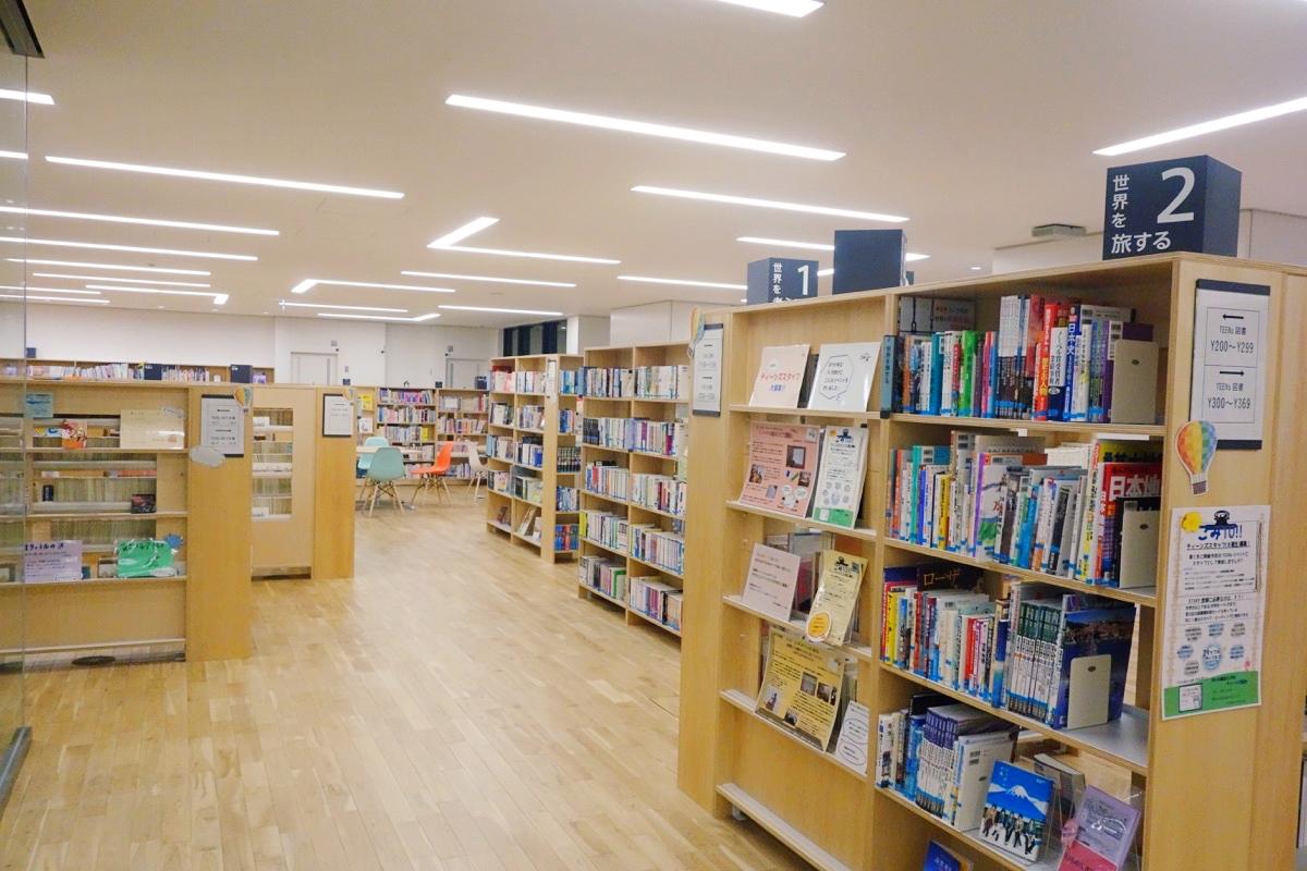 ゆいの森あらかわの図書館