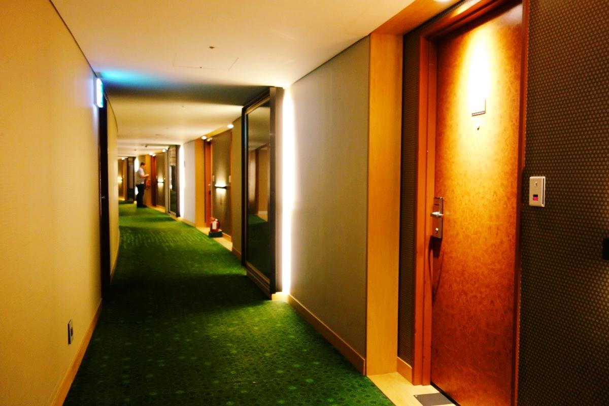 インターコンチネンタルCOEXの廊下