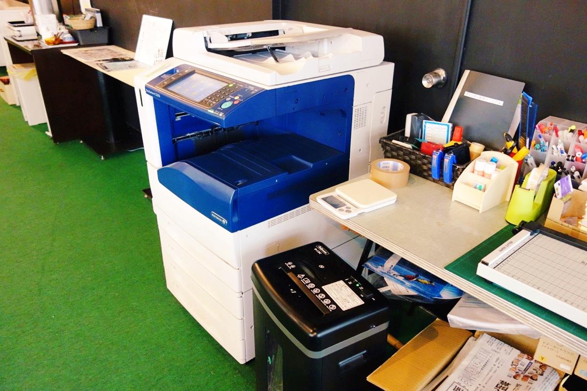 「naedoco」のコピー機