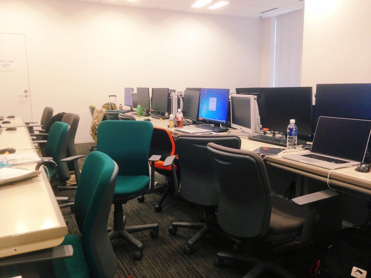 デザインスクールの教室