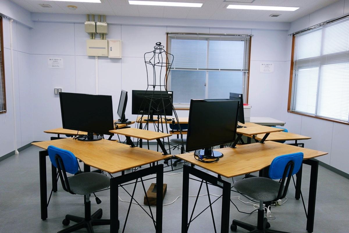 かさりの作業スペース