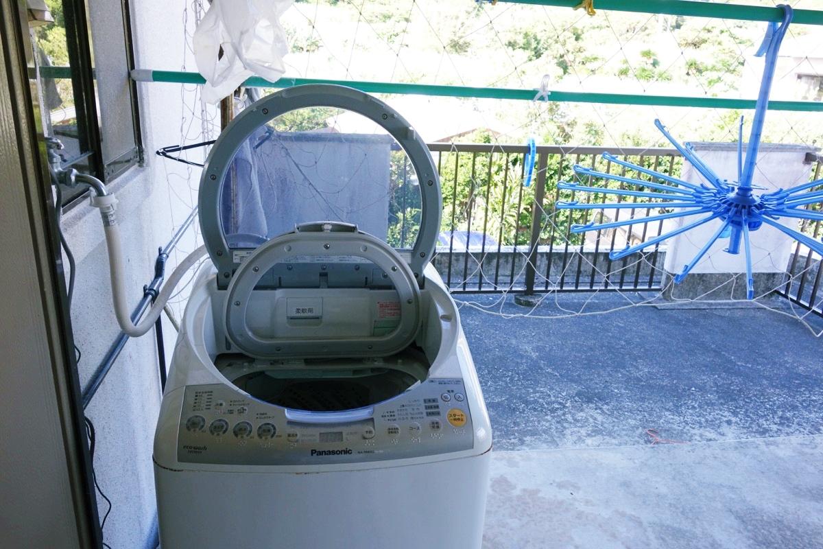 奄美ロングビーチの洗濯機