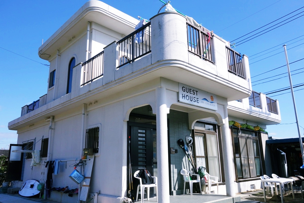 奄美大島のゲストハウス 奄美ロングビーチ