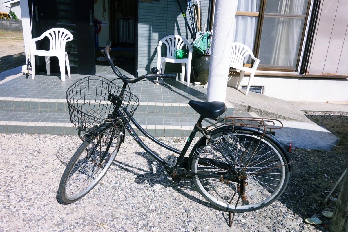 奄美ロングビーチの自転車
