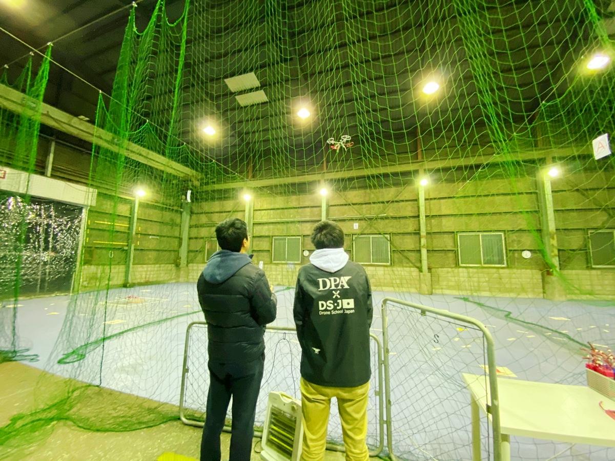 DSJ東京中目黒校 ドローン練習場