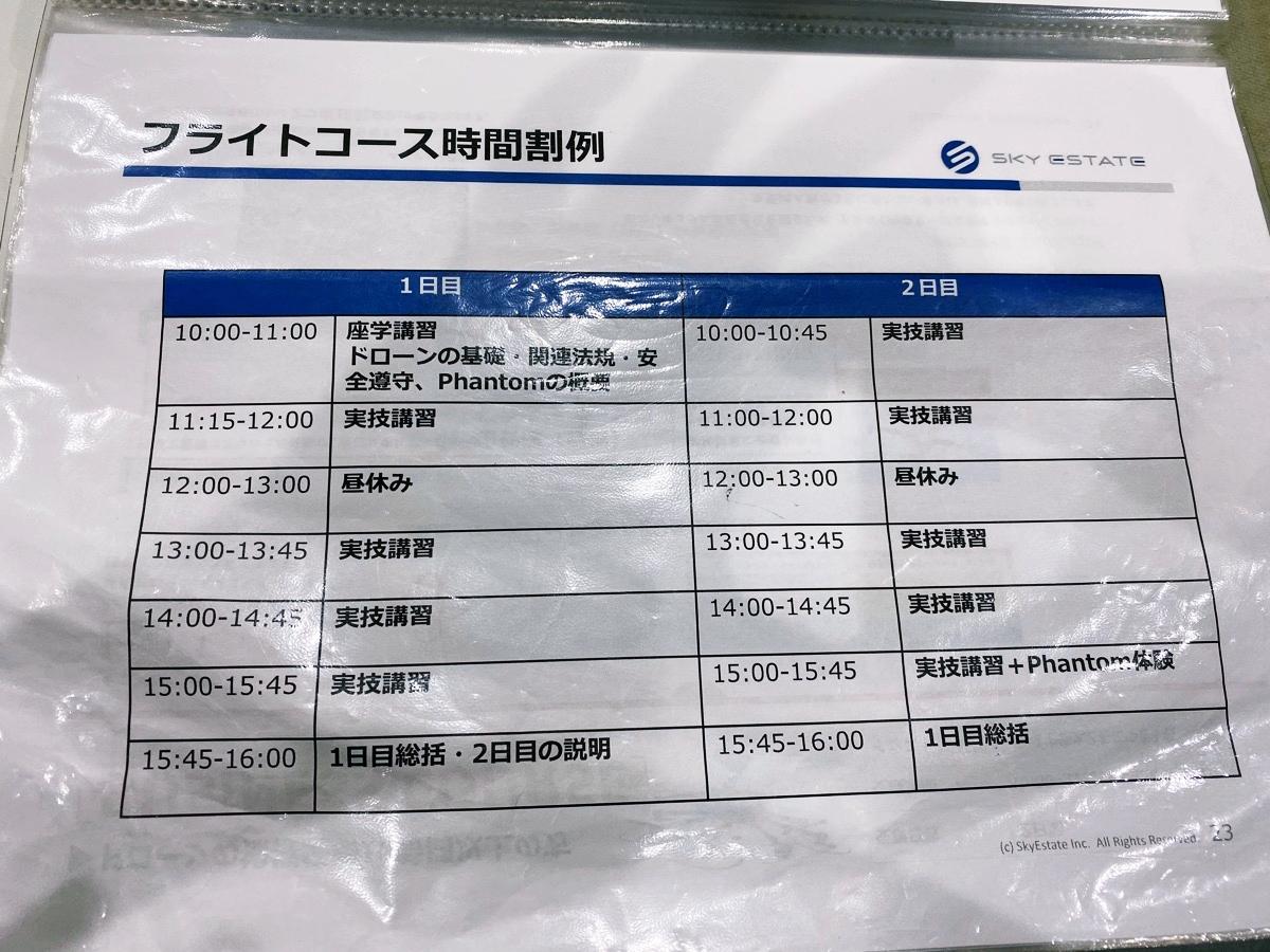 DSJ東京中目黒校 フライトコース