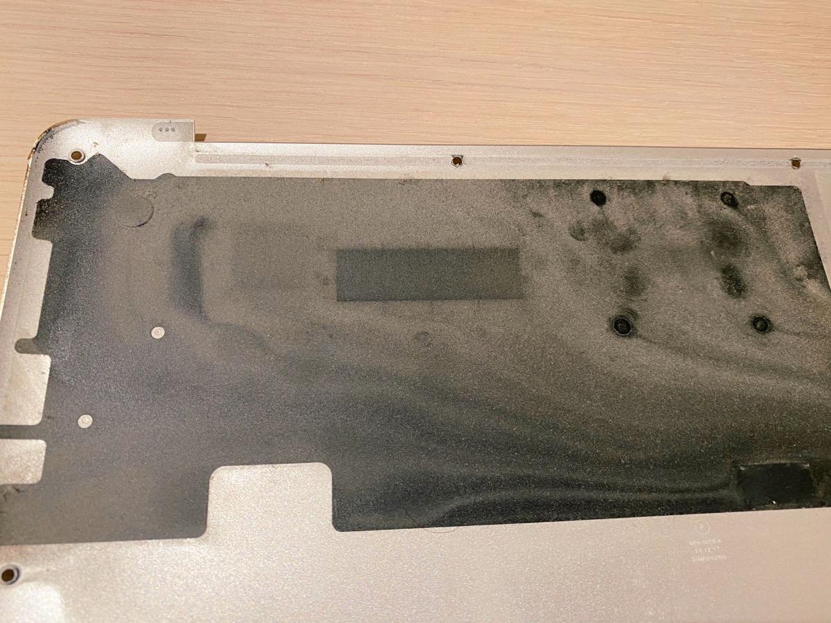 MacBook Pro(Mid 2014)の裏蓋
