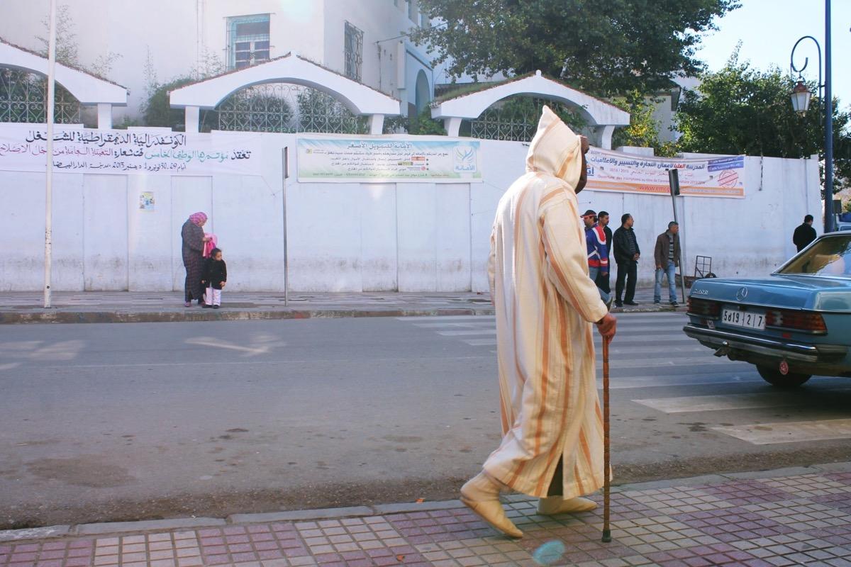 民族衣装ジェラバ