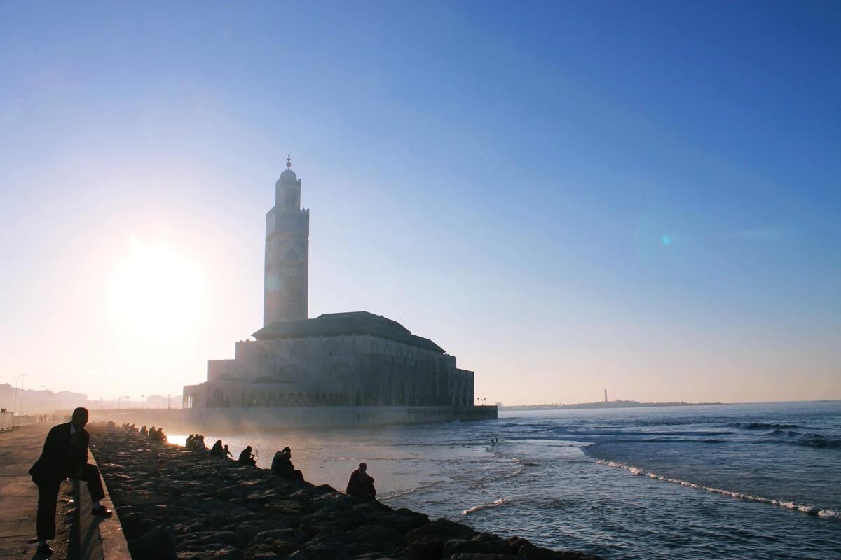 モロッコ最大の都市カサブランカ