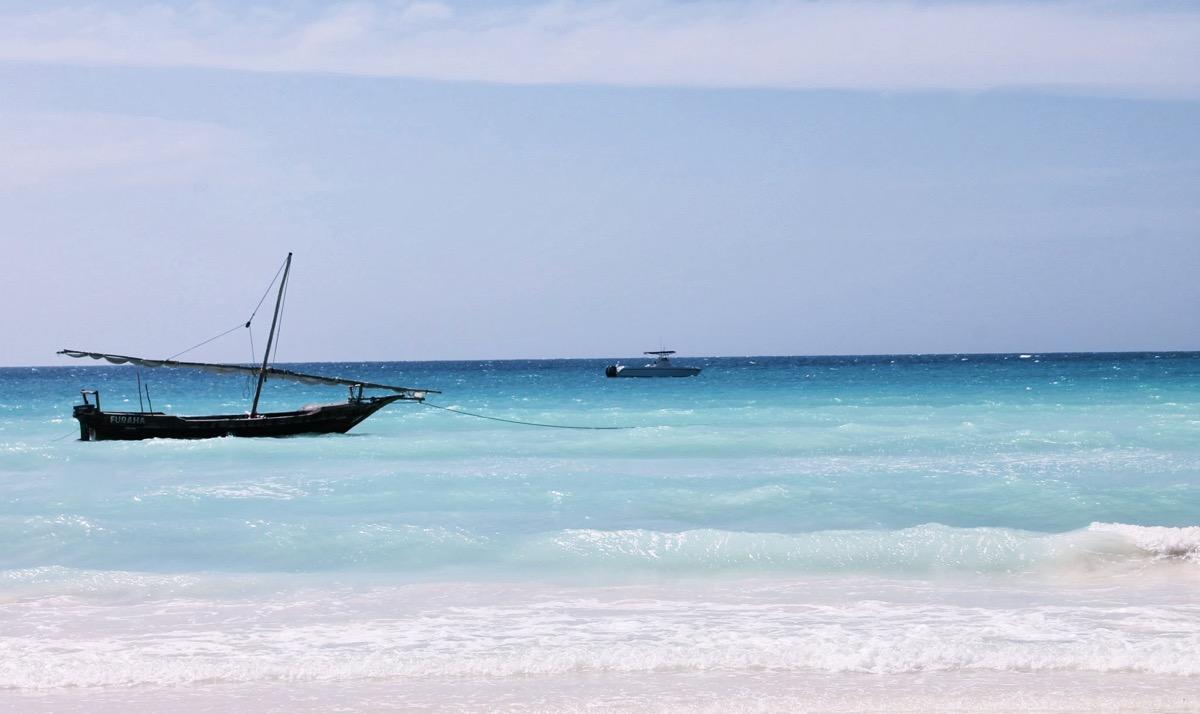 ザンジバル島のビーチ