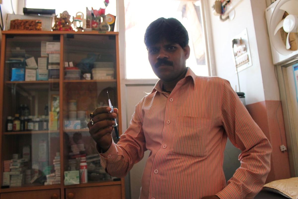 インドの医者