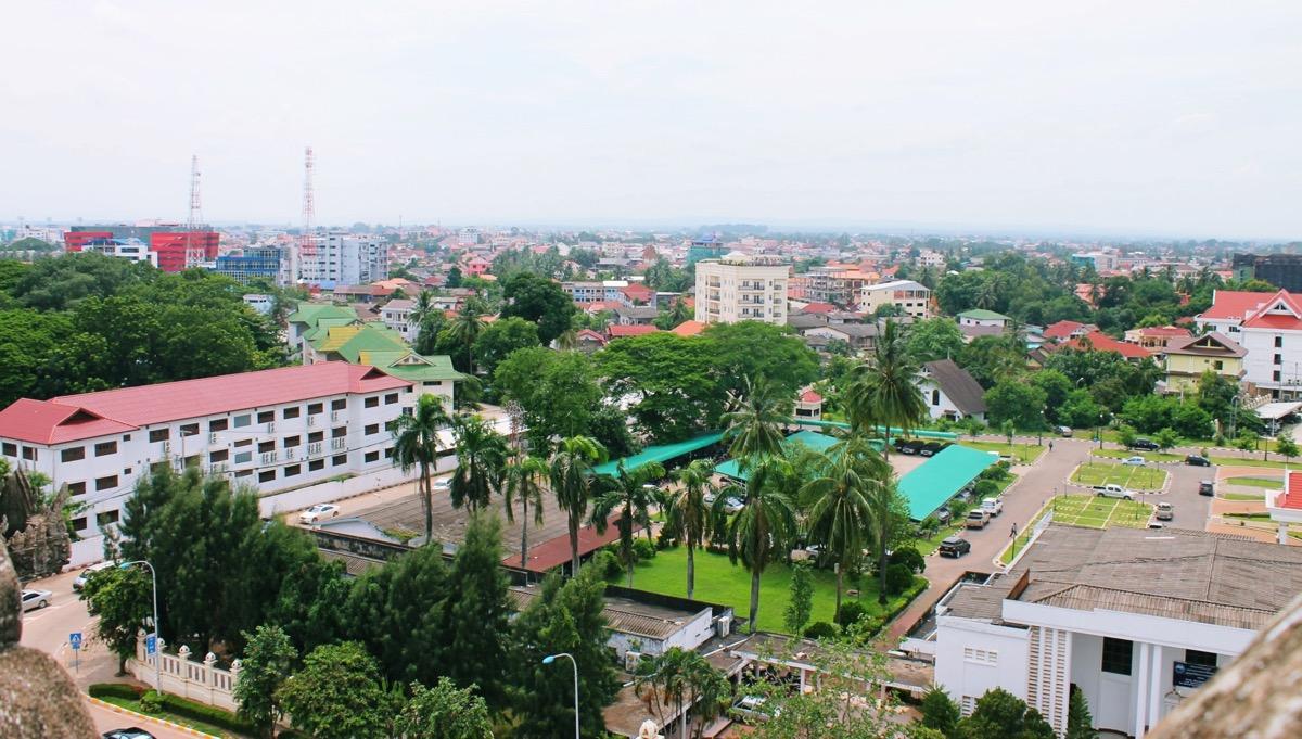 首都ビエンチャン