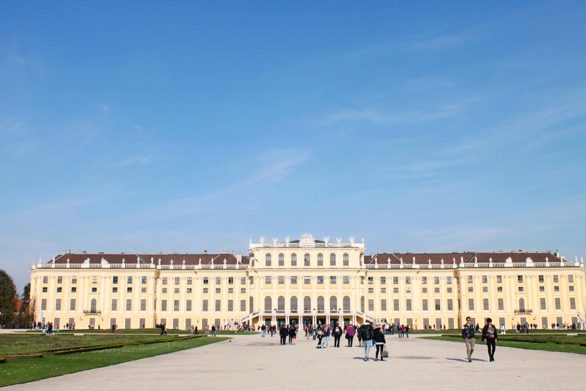 ウィーンの観光地 シェーンブルン宮殿