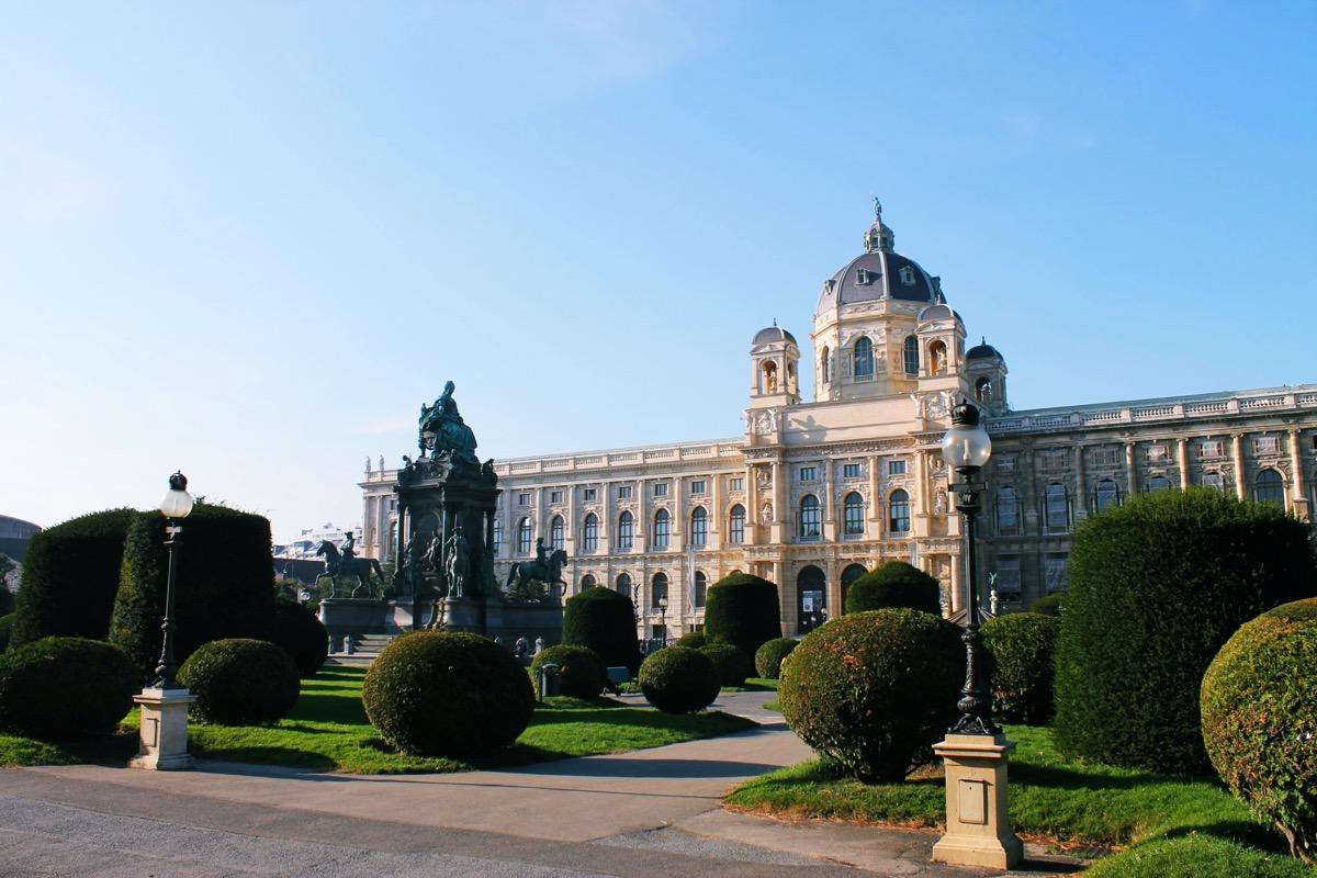 ウィーンの観光地 美術史博物館