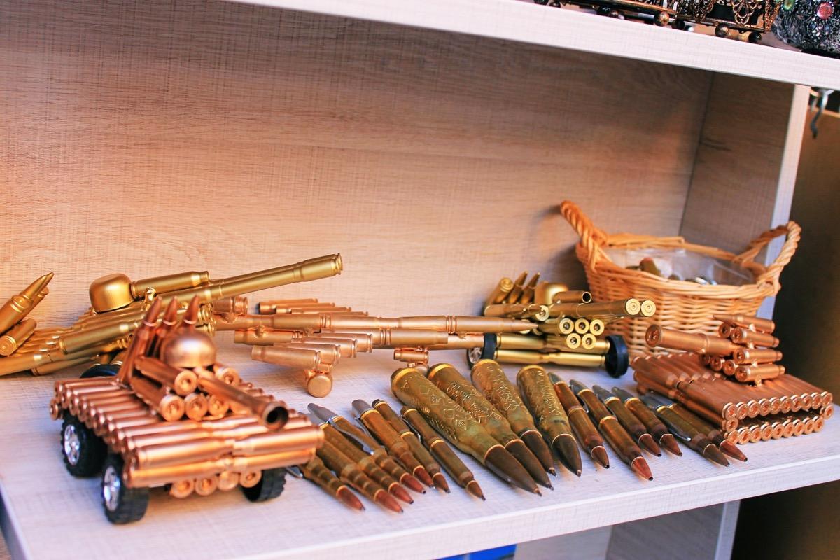 銃弾キーホルダー