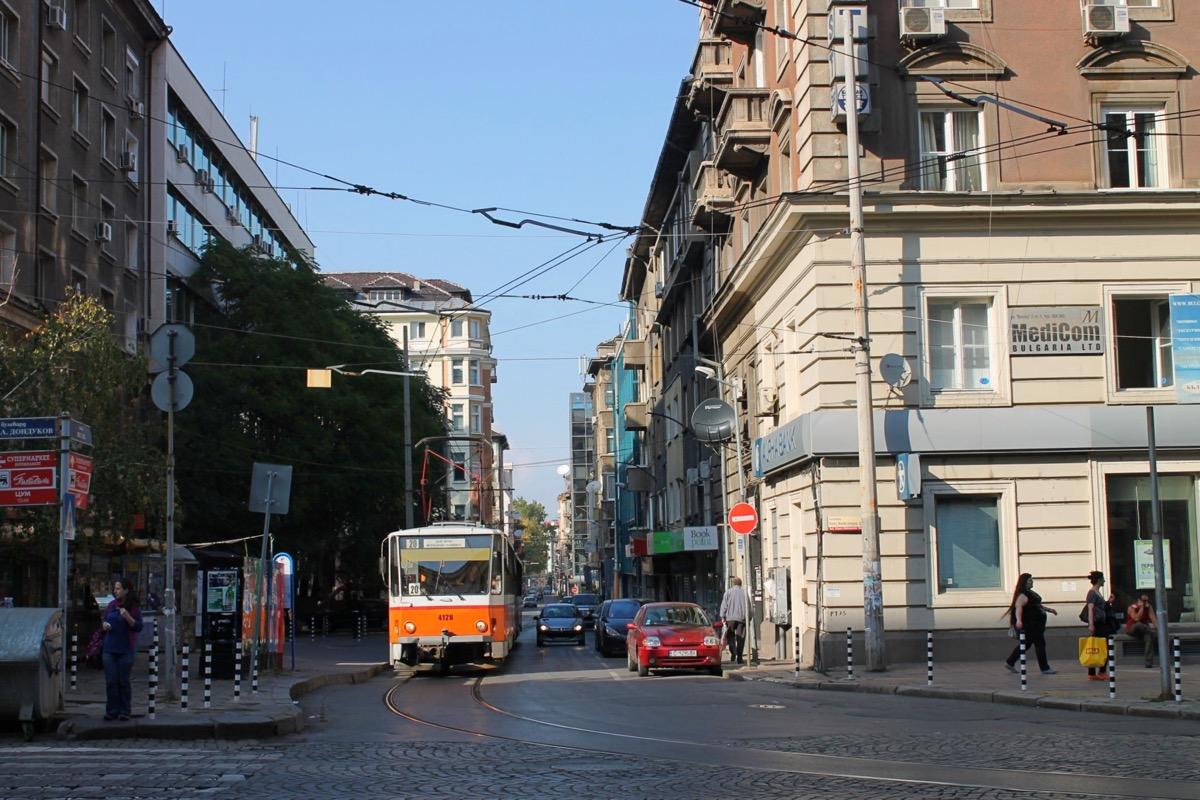 首都ソフィアの街並み