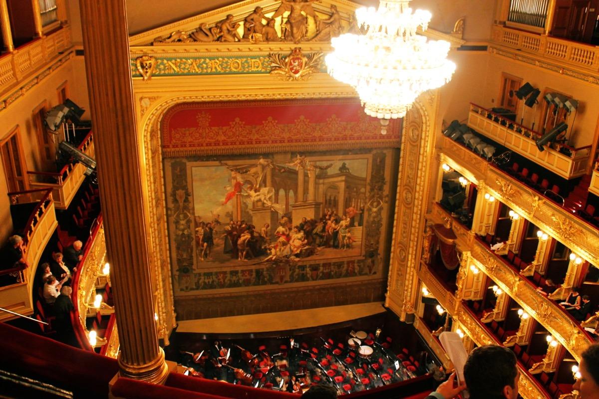 プラハで観劇