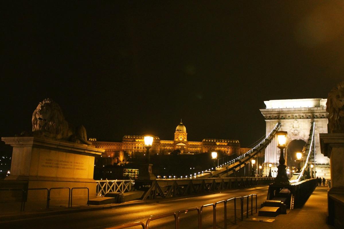 ブタペストの街並み