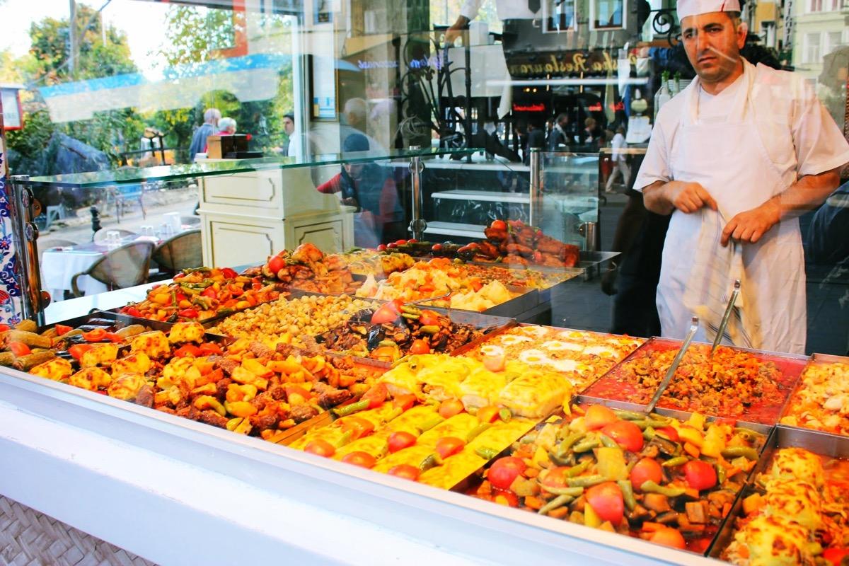 イスタンブールのレストラン