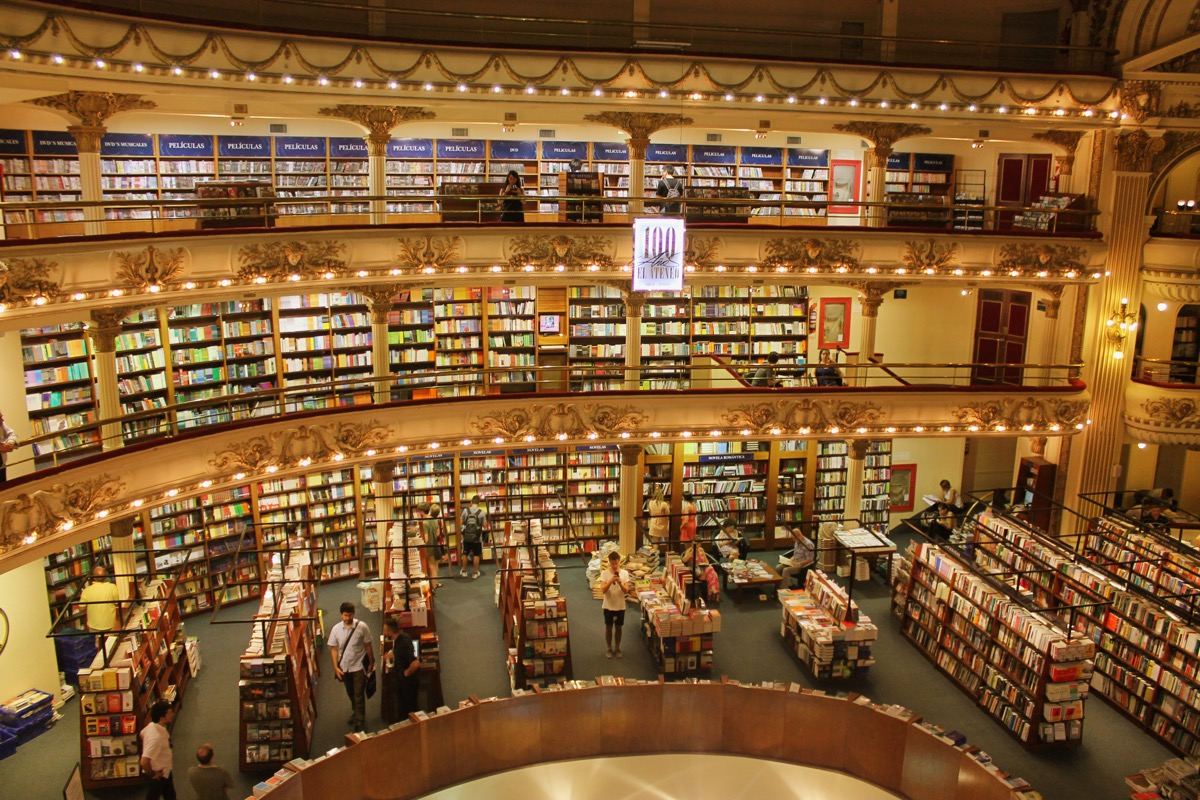 世界で2番目に美しい本屋さん @ブエノス・アイレス
