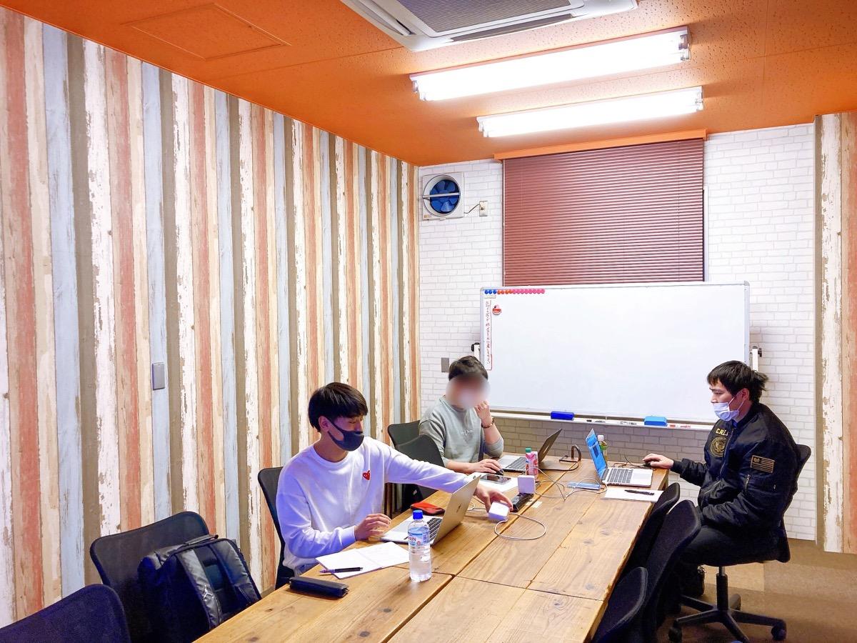広島教室での授業風景