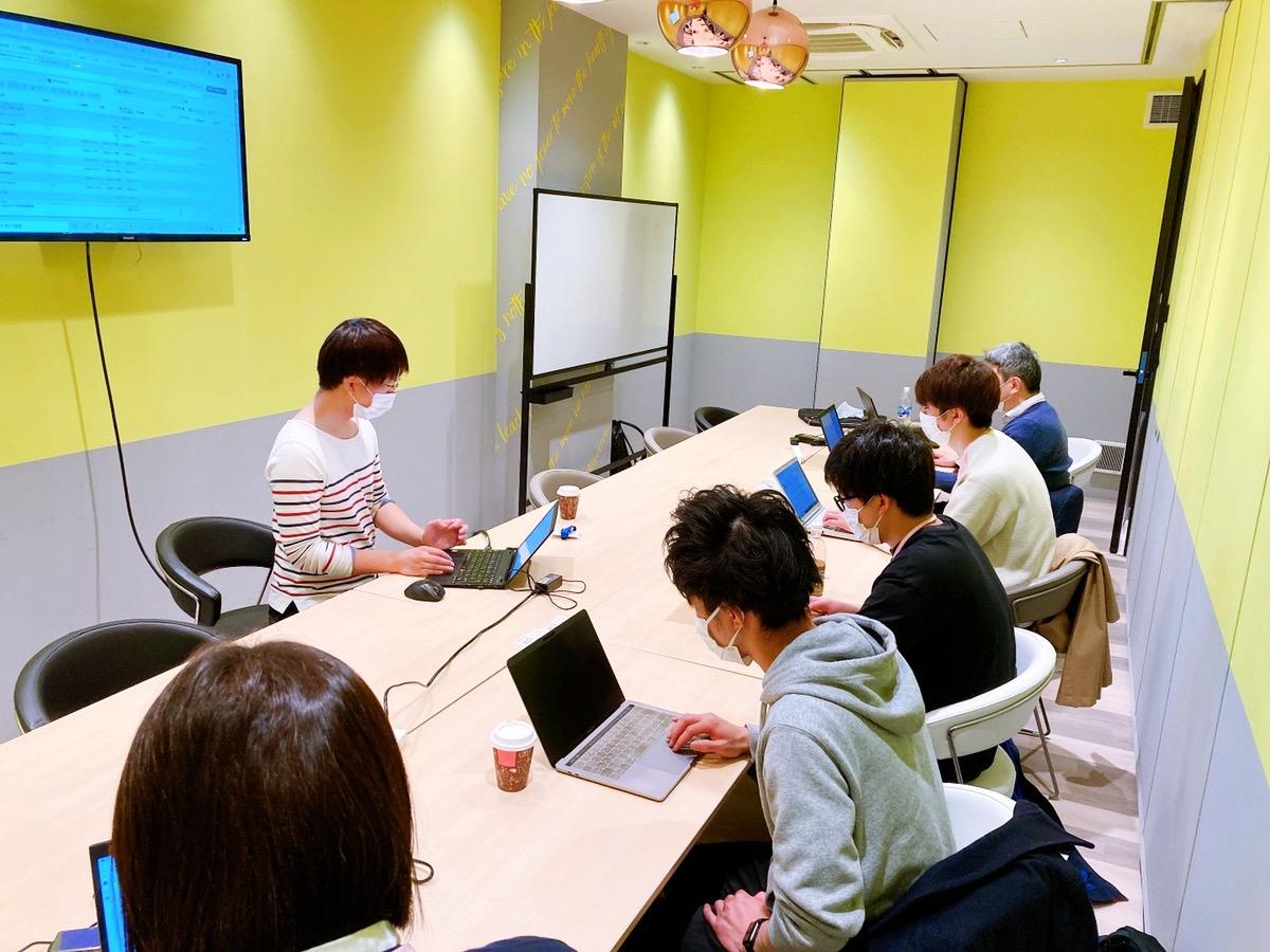東京教室での授業風景